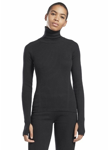 Reebok Kadın Siyah  Sweatshirt 101578973 Siyah